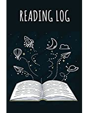 """Reading Log: An Activity Book For Book Lover - Reading Journal Portable Size (6""""x9"""") For Record Reading Book Over 100+ Record Pages and Book Index: Reading Journal: Volume 1"""