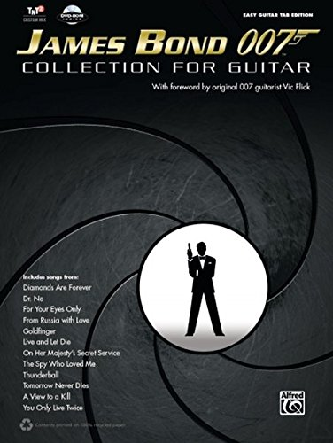 James Bond 007 Collection for Guitar | Gitarre | Buch & DVD-ROM (Easy Guitar Tab Editions)