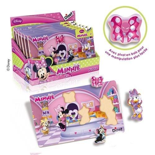 Diset 46254 - Juguete para bebés Minnie Mouse (46254) - Encajable Minnie...