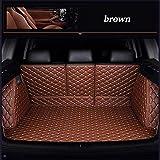 0beilita Funda De Maletero De Coche Protector para Hyundai Santa Fe Getz Tucson Ix25 Ix35 Creta Elantra Kona I30 Cubre Accesorios Coche, marrón