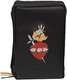 Missal Cover - Embroidered - Immaculate Heart of Mary (Large - 7