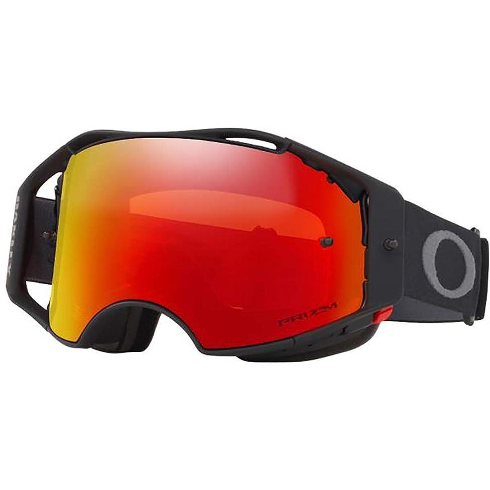 Oakley Airbrake Men's MTB Off-Road Cycling Goggles - Black Gunmetal/Prizm Trail Torch Iridium/One Size z68657218879328