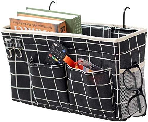 Fittoway Bedside Storage Pocket/Bedside Hanging Storage Bag for Headboards...