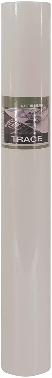 PRO ART 36-Inch by 50-Yards Sketch Paper Roll, White Color