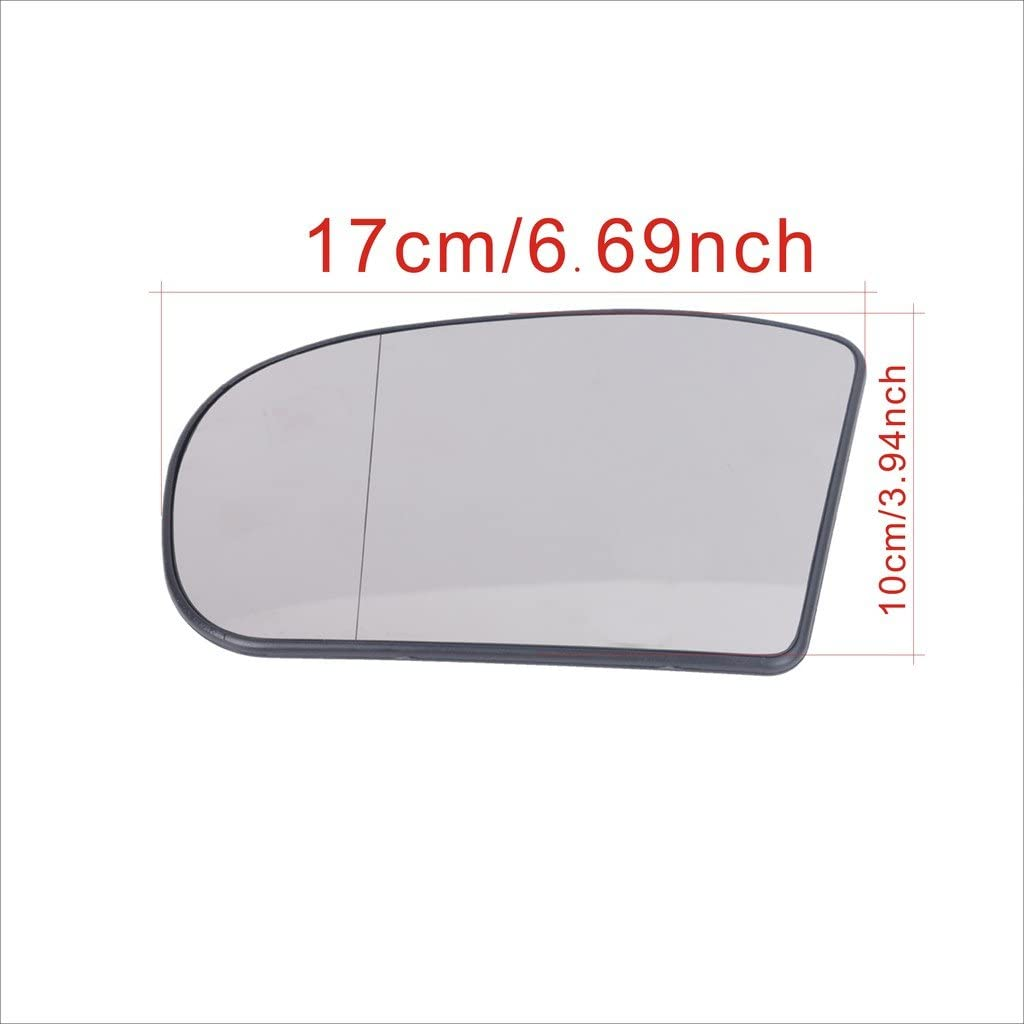 Heated Door Mirror Glass and Backing Plate for E//C-class W211 W203 03-06 Left side with Part Number 2038100121