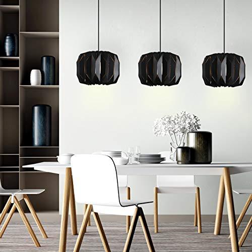 Lámpara de techo moderna Origami E27 [Clase de eficiencia energética A++]
