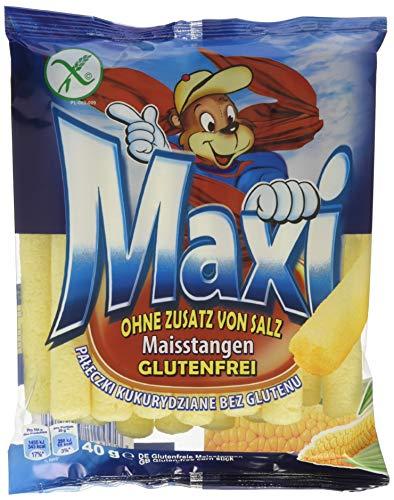 MAXI Polnische glutenfreie Maisstangen, 30er Pack (30 x 40 g)