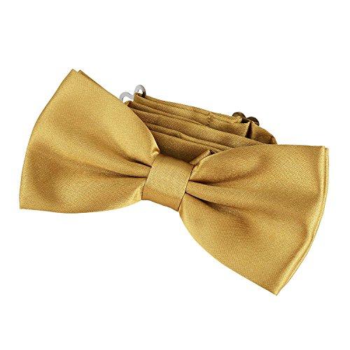 DonDon Nœud papillon avec crochet laiton - déjà lié et réglable