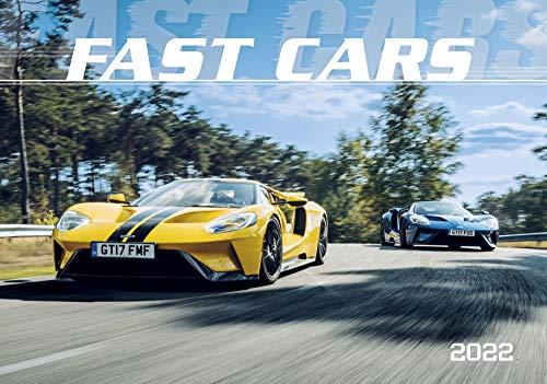 Fast Cars 2022 - Bild-Kalender 48,5x34 cm - Sportwagenkalender - Auto-Kalender - Technik-Kalender - Wand-Kalender - Alpha Edition