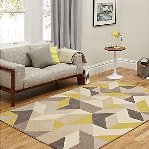 LiRuShop Alfombras y moquetas IKEA Estilo geométrico patrón de la Alfombra Sala...