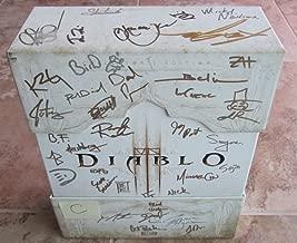 Diablo 3 Diablo III Collector's Edition Signed Autographed Copy (C)