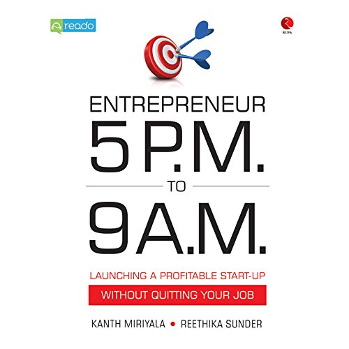 Entrepreneur 5 PM to 9 AM audiobook cover art