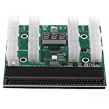 P Prettyia Placa de Conexión 1200w / 750w para PSU GPU Minería Ethereum ZEC ZCASH con Botón