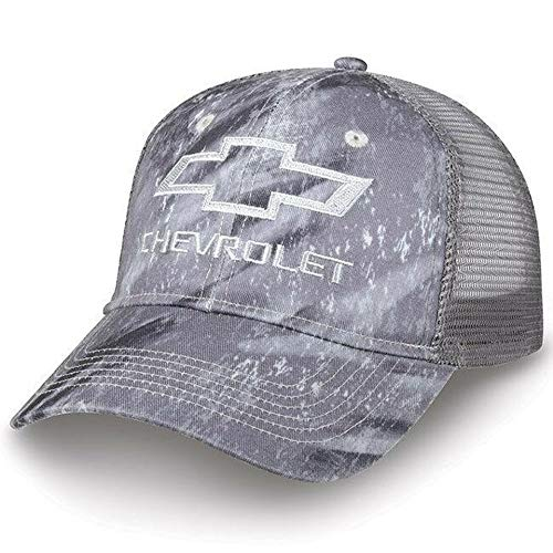 Chevrolet Realtree Fishing Camo Patch Mesh Hat Chevy Truck Hunting Cap