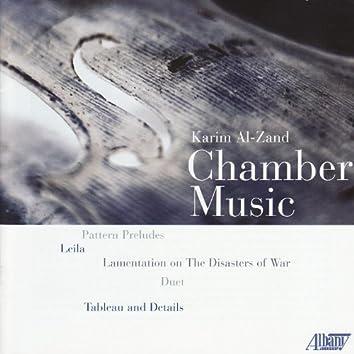 Chamber Music of Karim Al-Zand