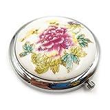 Taschenspiegel Rund Kleiner Schminkspiegel mit Vergrößerung Trauzeugin Geschenk...