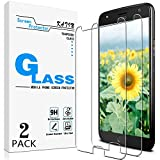 KATIN Moto X4 Screen Protector - [2-Pack] Tempered Glass for Motorola Moto X4 / Moto X (4th Generation) Screen Protector Bubble Free, Easy to Install