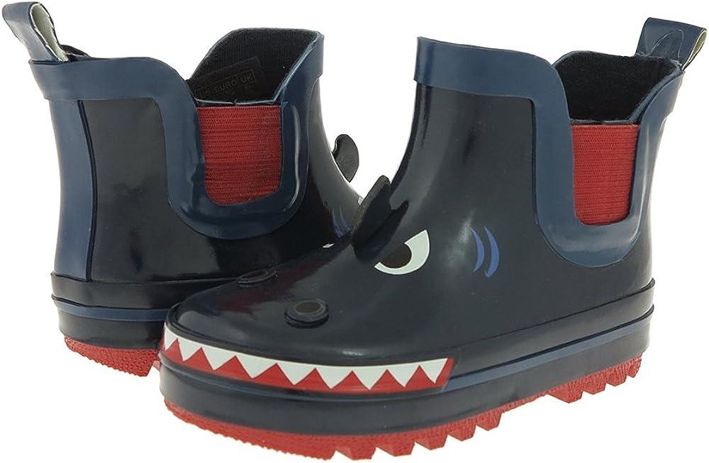 Capelli New York Toddler Boys Shark Face Rain Boot