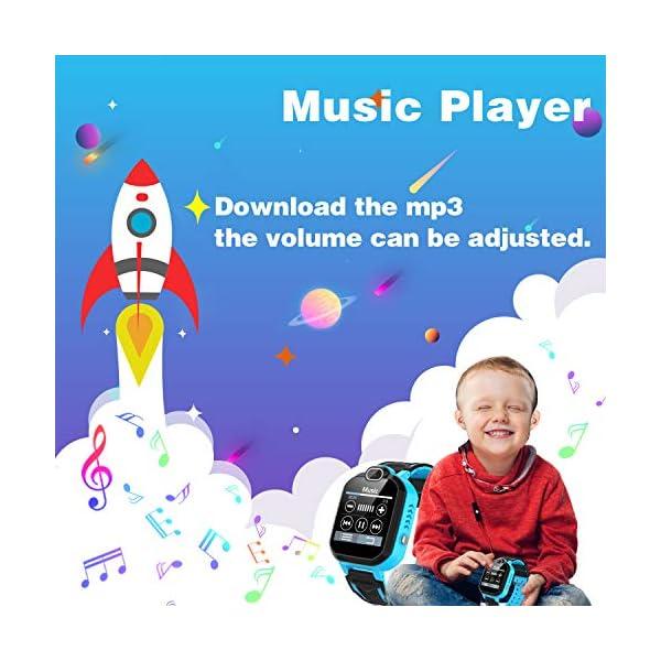 Reloj Inteligente para niños Kids Smartwatch para niños Niñas Juego de teléfono Smart Watch para niños Niños Reproductor… 6