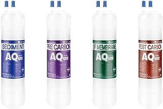 4EA Lot de filtres à eau de rechange économiques pour GMS : 707T (UF)/969CHT I (UF)/969CHB - 10 microns