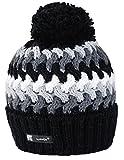 Gorro Morefaz Ltd de punto para hombre y mujer, de lana, estilo esquimal con pompón, ideal para invierno, para esquiar y para snowboard Cookie 39 regular