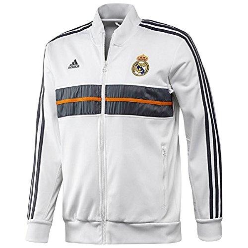 adidas, Botas de fútbol para hombre, color blanco, antracita, naranja, XS