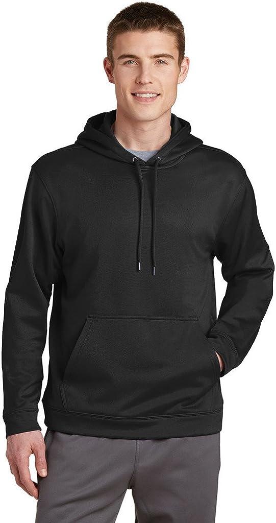 SPORT-TEK Big Mens Fleece Hooded Pullover