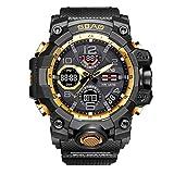 Muranba SBAO Sport Watch Men Digital LED Electronic Watches TPU Quartz Wristwatches