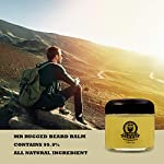 Mr Rugged Beard Balm For Men (1.8oz) All Natural Beard Care Formula, Beard Conditioner, Essential Part of Any Beard Care… 7