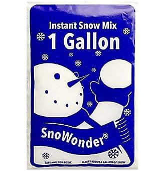 SnoWonder スノーパウダー 人工雪 インスタントスノー (水を入れるだけ簡単) [並行輸入品]