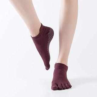 Professional Yoga Socks Cotton Non-Slip Five Finger Full Toe Sports Socks Five Finger Five Toe Socks