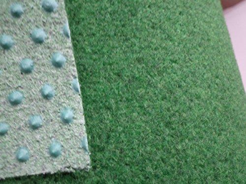 Internethandel Pfordt Kunstrasen grün (5€/m²) mit Noppen 400 cm breite (500 x 400 cm)