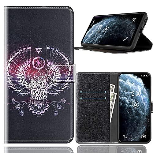 Sinyunron Handy Schutzhülle Kompatibel mit DOOGEE BL12000 Hülle Handy Tasche Hülle Handyhülle Lederhülle mit Kartenfächer,Ständer,Magnetverschluss,Hülle08C