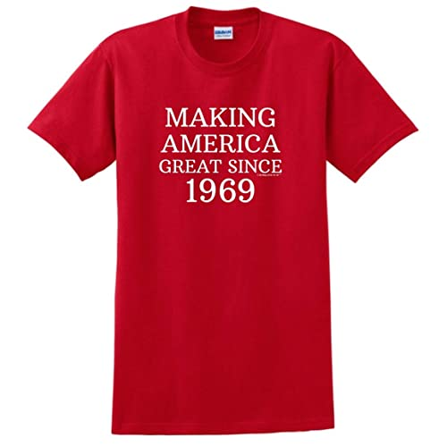Birthday Gifts For All 50th Making America Great Since 1969 T Shirt