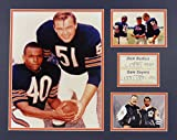 Dick Butkus & Gale Sayers 16' X 20' Unframed Matted Photo Collage by Legends Never Die, Inc.