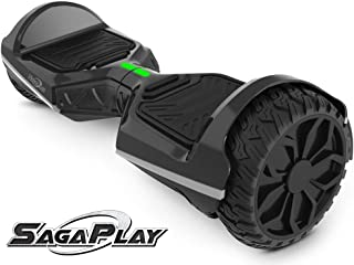 SagaPlay Self Balancing Scooter Hover Self-Balance Board w/Wireless Speakers - UL2272 Certified, 220W Dual-Motor, 6.5'' Electric Powered Board Hover [F1 Series]