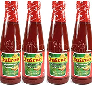 Jufran Banana Sauce Hot and Spicy Flavor | Filipino Style bottle 4x/12 oz each