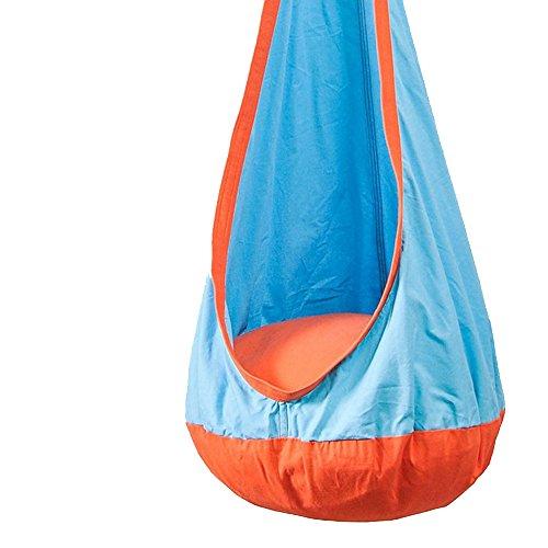Ppy778 Kinderschaukel Indoor Hängesessel, Gartenterrasse, Erholung im Freien, 70 x 160 cm (Color : Blue)