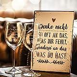 2x Leonardo XL Weinglas Schlechter Tag, Guter Tag – Frag nicht! – Geburtstagsgeschenk – Lustige Geschenke – Geeignet als Weißweingläser Rotweingläser – Originelles Geschenk – Weingläser - 6