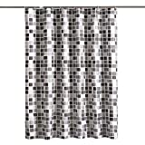 SONGHJ Dickem Polyester Duschvorhang Mosaik Wasserdicht Mehltau Duschvorhang Haushalts Partition Vorhang