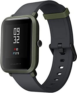 "Xiaomi Huami Amazfit Bip Smart Watch Reflection Color Screen 1.28"" Baro IP68 Waterproof GPS for Android & iOS English Version (Green)"