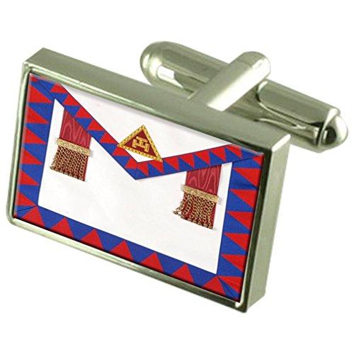 Select Gifts Arco Royal Masonic Regalia directores delantal gemelos con bolsa
