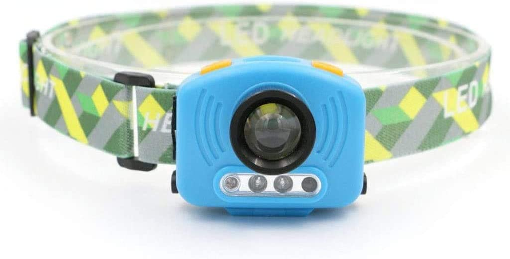 Complete Free Shipping HUIZHANG Outdoor Portable Small Headlights Hiking depot Ligh Induction