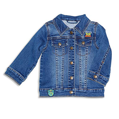Disney Pixar Toy Story- 25th Anniversary Denim Jacket for Baby, Size 9-12 Months