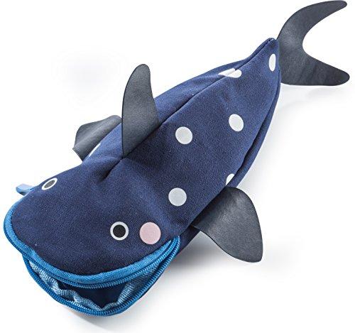 Donkey Products - Hello Tuna   Schöne stifteverschlingende Federtasche in Thunfisch-Form   Cooles Geschenk für Jungen und Mädchen zum Schulanfang