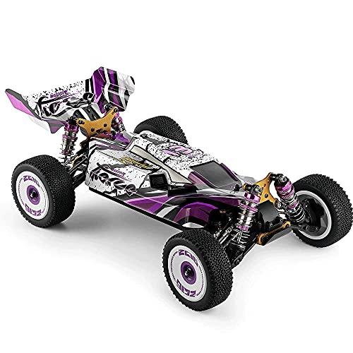 CHENBAI Coche de carreras de alta velocidad 60km / 1/12 2.4GHz RC Car Off-Road Drift Car 4WD con chasis de aleación de aluminio Engranaje de aleación de zinc, Regalo del día de los niños, Regalo de cu