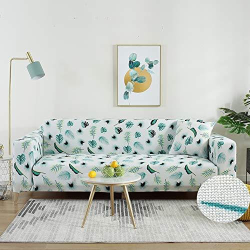 PEMUDCOT Fundas de sofá Loveseat Stretch Pattern Fundas de sofá Universal Elastic Fabric Protector Slipcovers 2 Seater