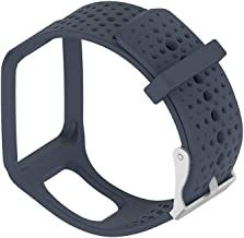 DreamDirect Silicone Band Strap for Tomtom Runner Cardio/GPS Watch, Replaceable Strap Smart Watch Accessories Watchband Wrist Band for Women Men