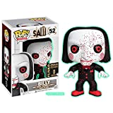QToys Funko Pop! Movies: Saw #52 Bloody Billy Glow-in-The-Dark Exclusive Chibi...