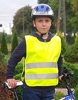 MBM Warnschutzweste Warnweste Weste Kinder Funktionsweste Sichtbarkeitsweste EN1150:199